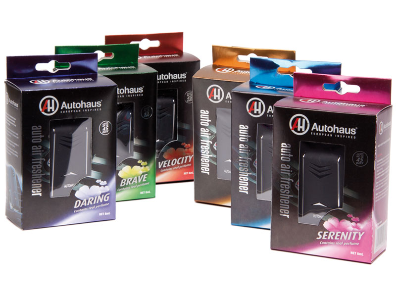 The complete range of vent air fresheners