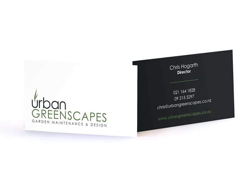 Urban Greenscapes Business Card